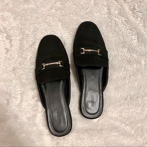 Black Forever 21 Black Loafers